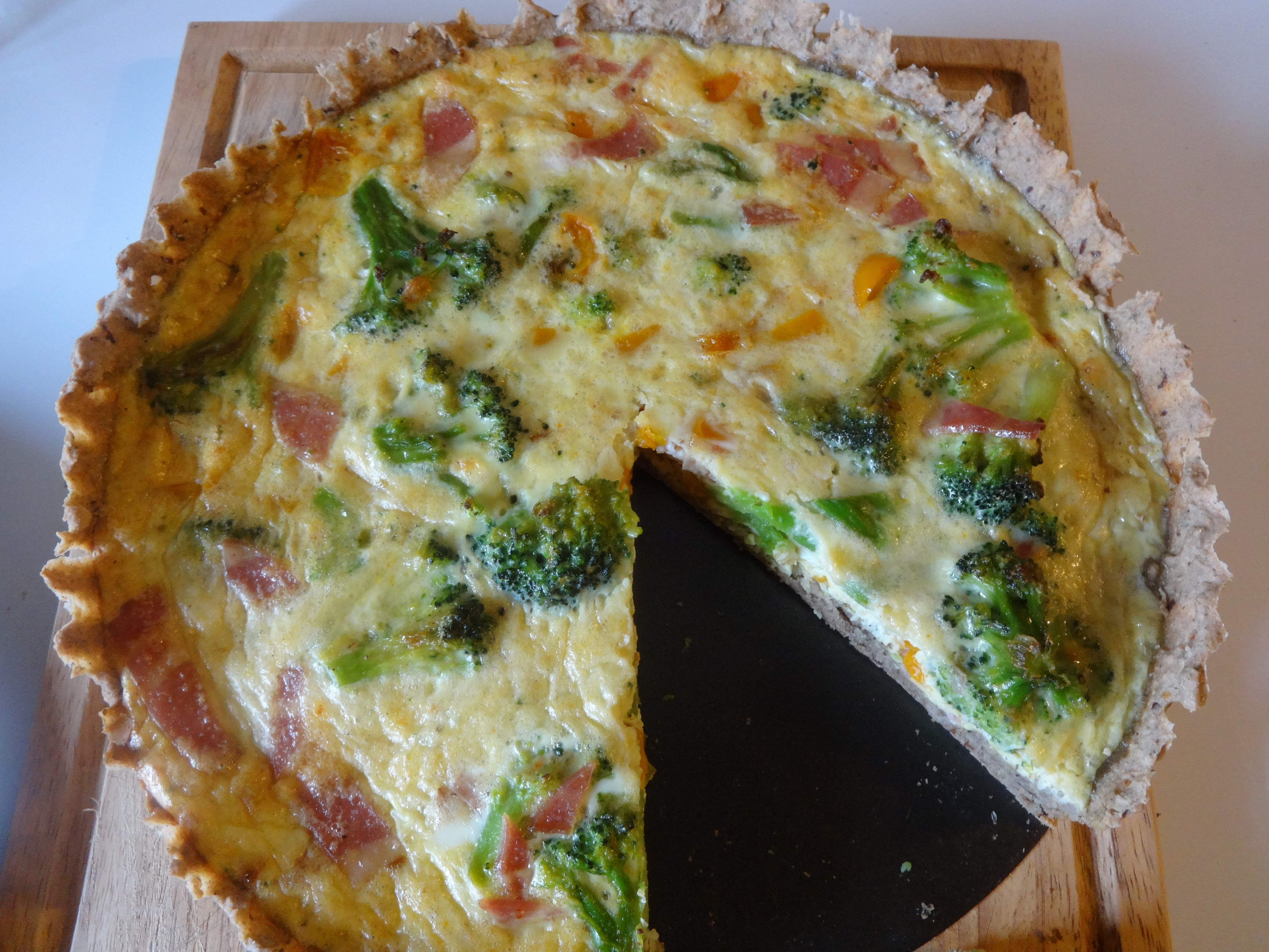 Killer Callaloo Quiche (and other Quiche Variations) (Gluten-Free, with Paleo, Vegan and Vegetarian Options)