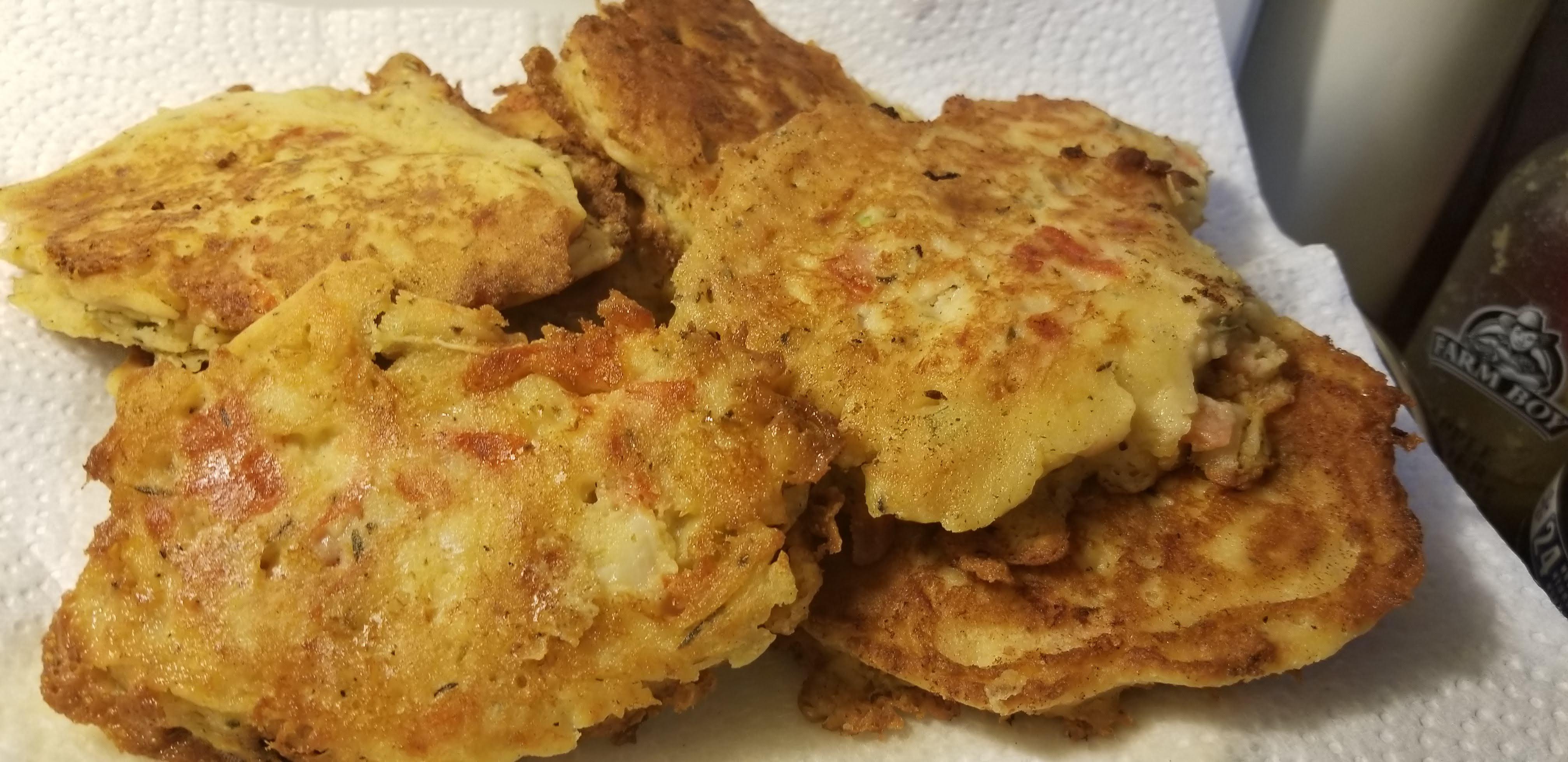 Gluten-Free Saltfish Fritters